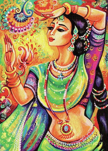 Painting - The Dance Of Tara by Eva Campbell