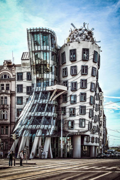 The Dancing House Art Print