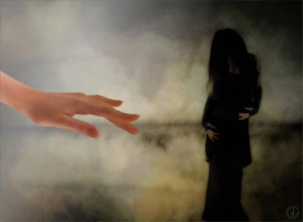 Wall Art - Digital Art - The Dark Little Sister by Gun Legler