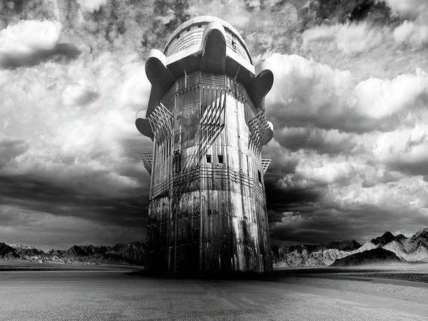 Gunslinger Photograph - The Dark Tower by Dominic Piperata