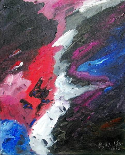 Painting - The Darkness  by Ray Khalife