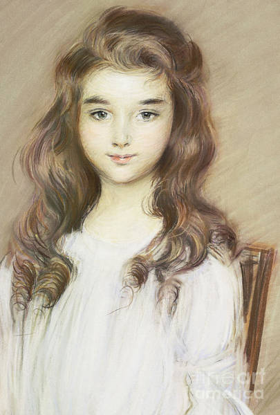 Cesar Wall Art - Painting - The Daughter Of The Marquise Of Elbe by Paul Cesar Helleu