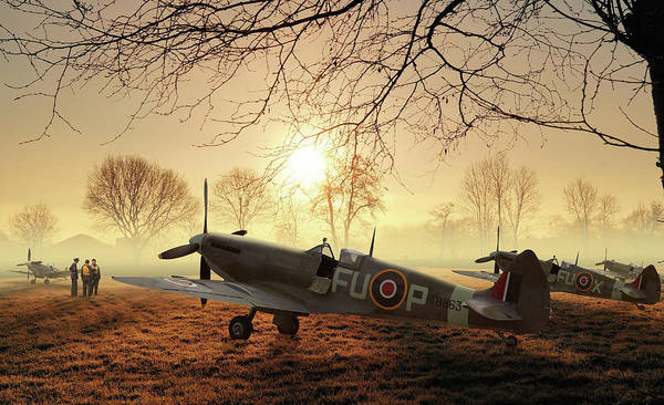 Royal Air Force Digital Art - The Day Begins by Mark Donoghue