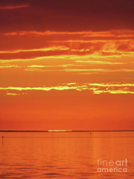Cedar Key Photograph - The Day Is Done by D Hackett