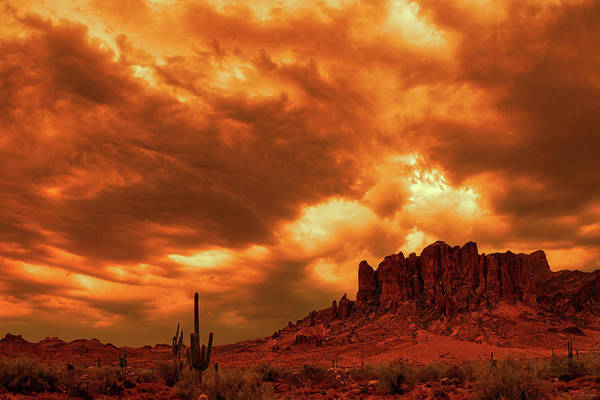 Photograph - The Day The Sky Burned by Rick Furmanek