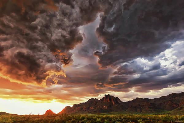 Photograph - The Day The Sky Split by Rick Furmanek