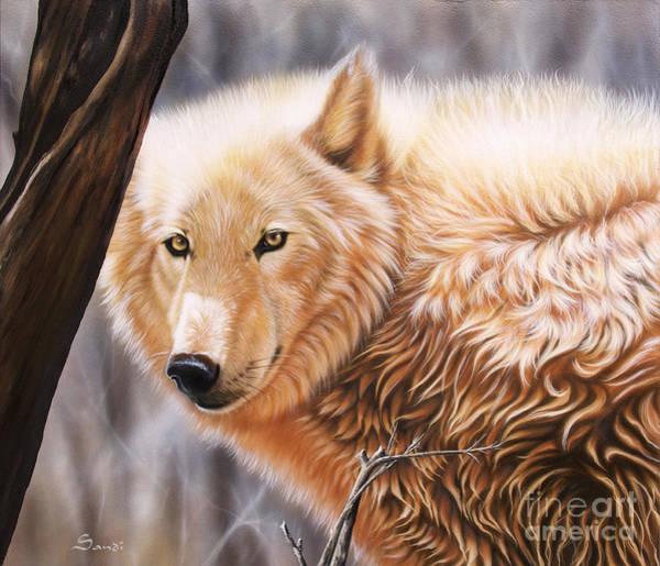 Wall Art - Painting - The Daystar II by Sandi Baker