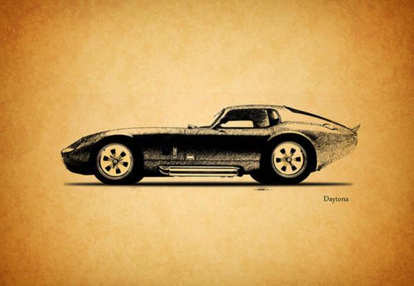 Carroll Shelby Wall Art - Photograph - The Daytona 1965 by Mark Rogan