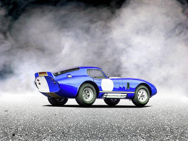 Shelby Cobra Photograph - The Daytona by Mark Rogan