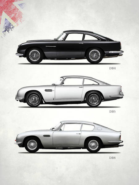 Db5 Wall Art - Photograph - The Db Collection by Mark Rogan