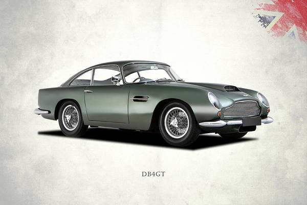 Martin Photograph - The Db4gt by Mark Rogan
