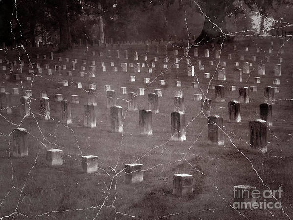 Wall Art - Photograph - The Dead At Shiloh by David Bearden
