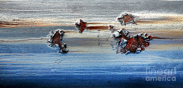Corrosion Photograph - The Dead Sea by Olivier Le Queinec