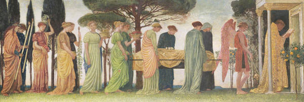Wall Art - Painting - The Death Of The Year by Walter Crane