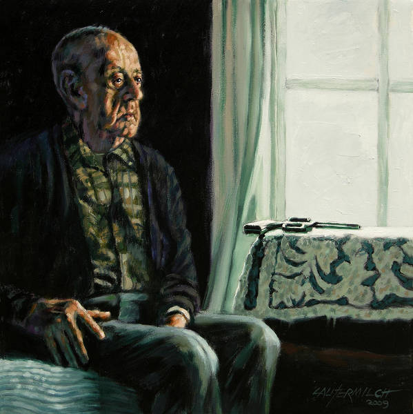 Suicide Painting - The Decision by John Lautermilch