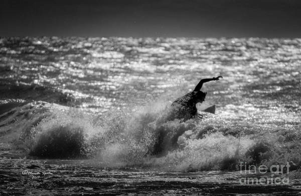 Wetsuit Wall Art - Photograph - The Decisive Moment by Marvin Spates