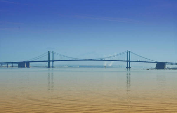 Photograph - The Delaware Memorial Bridge by Bill Cannon