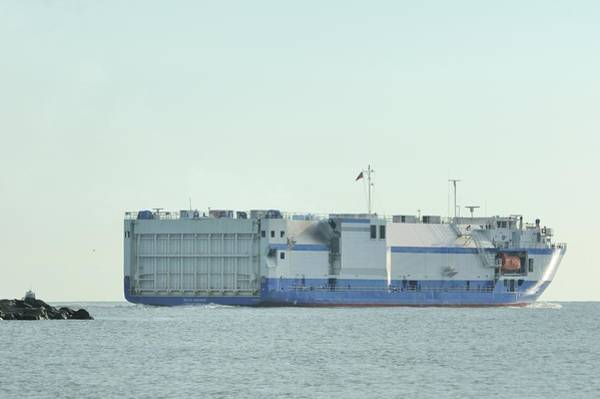 Photograph - The Delta Mariner Heads To Sea by Bradford Martin