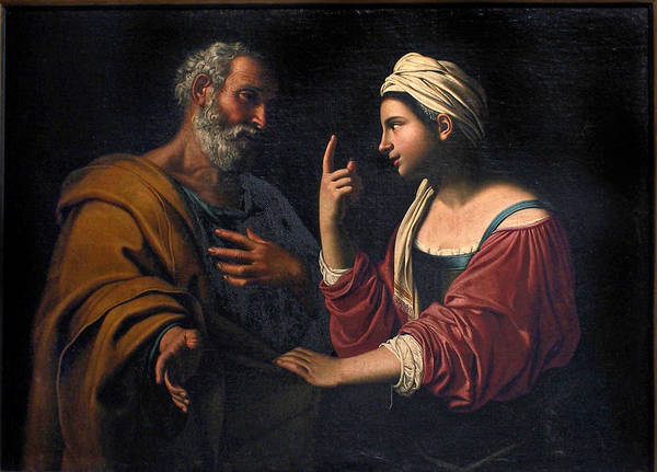 Denial Painting - The Denial Of Saint Peter by Antiveduto Gramatica