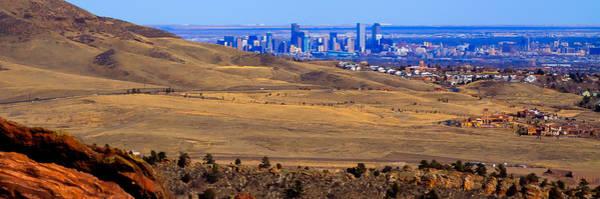 Photograph - The Denver Colorado Skyline 1 by David Patterson