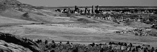Photograph - The Denver Colorado Skyline 2 by David Patterson