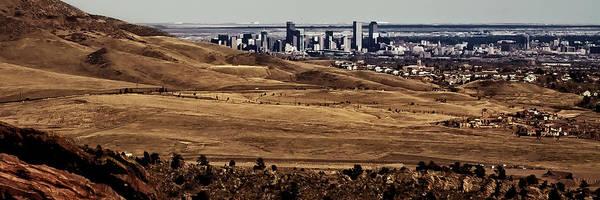 Photograph - The Denver Colorado Skyline 7 by David Patterson