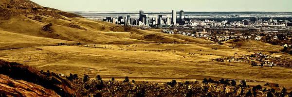 Photograph - The Denver Colorado Skyline 8 by David Patterson