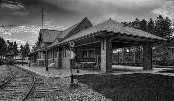 Photograph - The Depot Monochrome by Dale Kauzlaric