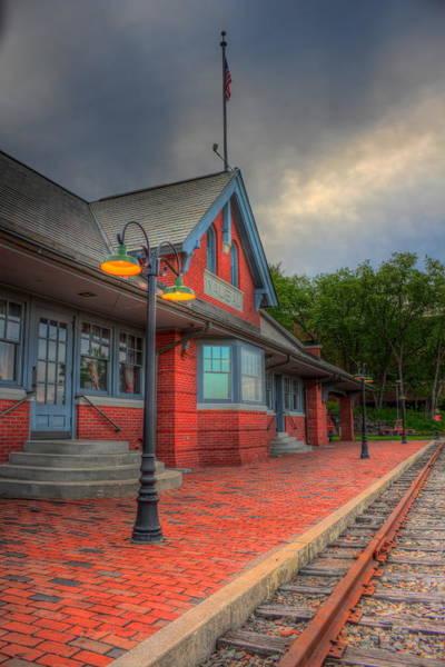 Photograph - The Depot Walkway by Dale Kauzlaric
