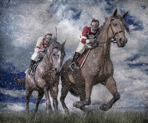 Wall Art - Digital Art - The Derby by Betsy Knapp