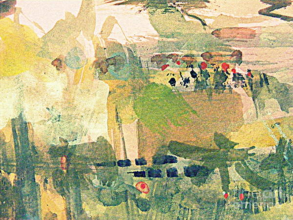 Pale Blue Dot Wall Art - Digital Art - The Desert Oasis by Nancy Kane Chapman