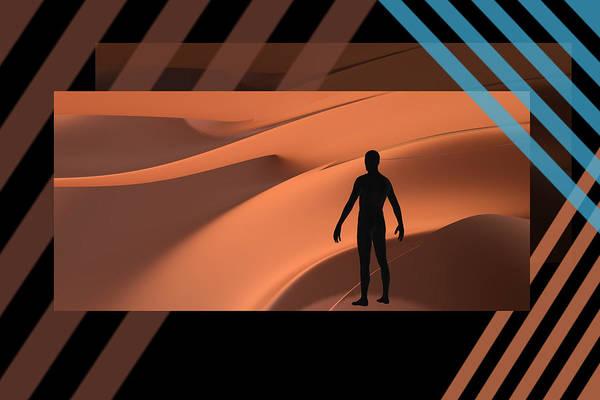 Wall Art - Digital Art - The Desert by Steven Lebron Langston
