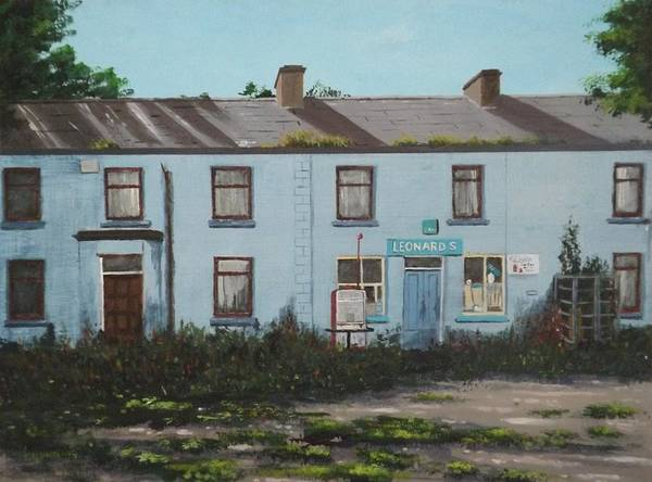 Dereliction Painting - The Deserted Village by Tony Gunning
