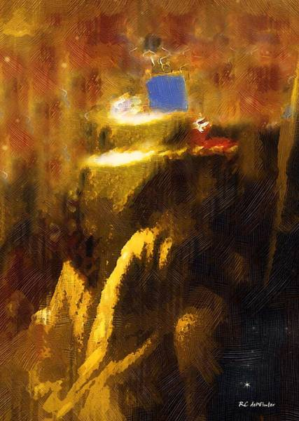 Painting - The Destruction Of The Temple by RC DeWinter