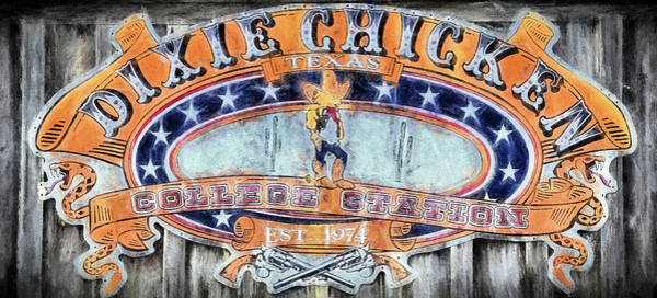 Wall Art - Digital Art - The Dixie Chicken by JC Findley