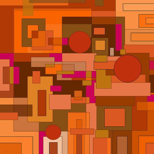 Digital Art - The Digital Age by Val Arie