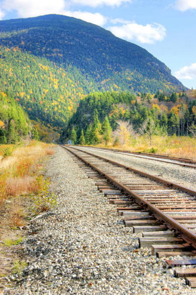 Photograph - The Disappearing Railroad by David Birchall