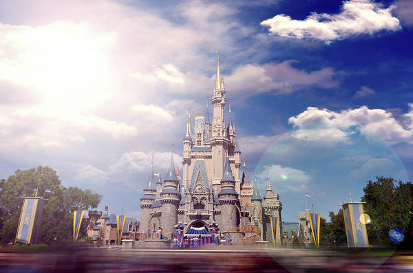 Wall Art - Photograph - The Disney Rush by Ryan Crane