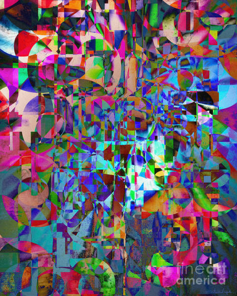 Digital Art - The Displacement Of Reality by Edmund Nagele