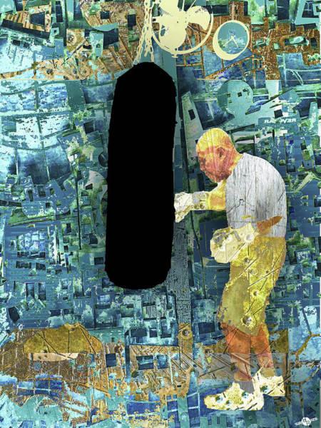 Mixed Media - The Distance by Tony Rubino