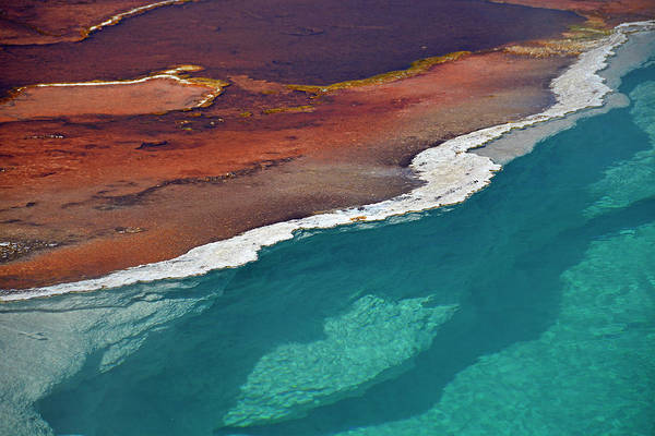 Photograph - The Divide In Black Pool by Bruce Gourley