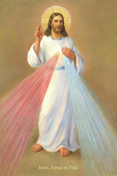 Wall Art - Painting - The Divine Mercy Of Jesus by Svitozar Nenyuk