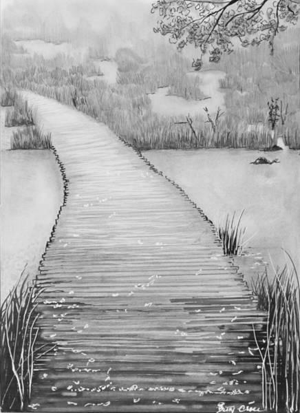 The Divine Path Art Print