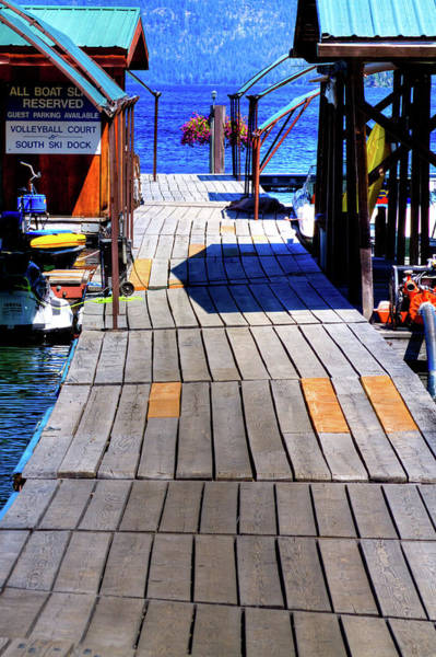 Photograph - The Dock At Hill's Resort by David Patterson