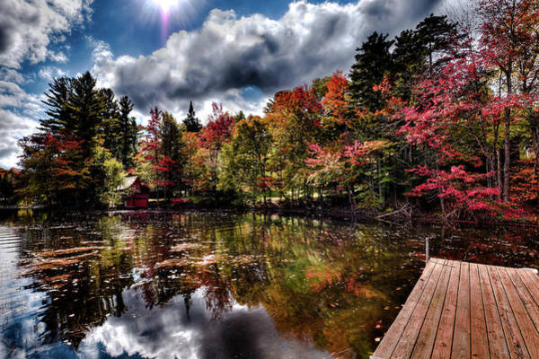 Photograph - The Dock At The Boathouse by David Patterson