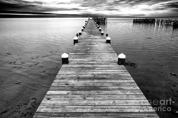 Photograph - The Dock On Long Beach Island by John Rizzuto