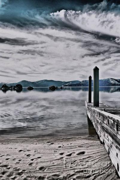 Wall Art - Photograph - The Dock by Nancy Chambers