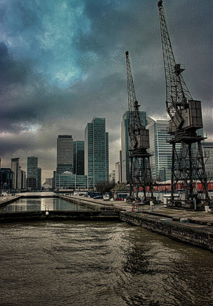 River Thames Photograph - The Docks by Martin Newman