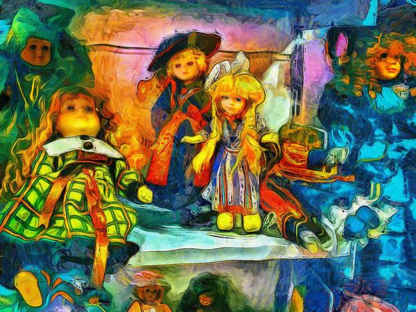 The Dolls Art Print