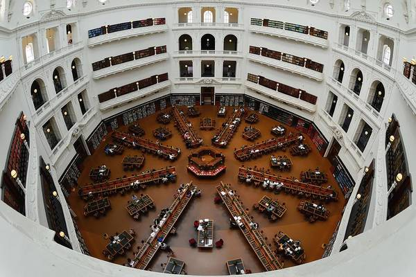 Photograph - The Dome - State Library Of Victoria by KJ Swan